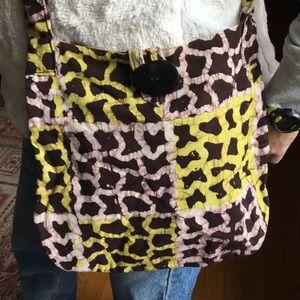 Handbags - African print batik purse new